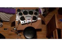 Electric drum set.... Yamaha. DD - 65.