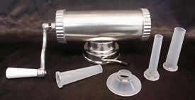 TABLE TOP Sausage Maker Hand Operated Heavy Duty Manual