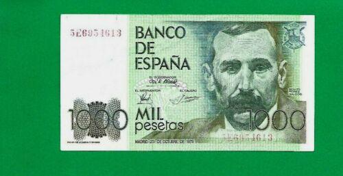 SPAIN banknote ,1000 Pesetas 1979  P158
