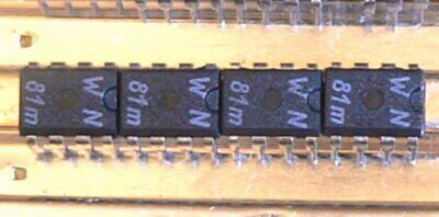 TO99 AD544KH High Performance BiFET OP 2 Stück Analog Devices