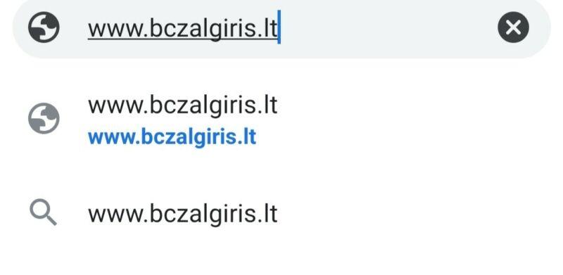bczalgiris.lt -Euroleague basketball club Lithuania Domain Name For Sale