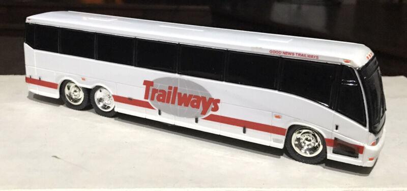 "Good News Trailways MCI ""E"" Plastic 10"" Bank Bus"