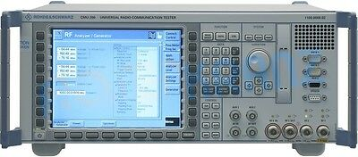 ROHDE & SCHWARZ CMU200 Universal Radio Communication Tester gebraucht / used