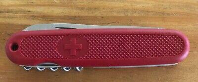 Vintage 3 Blade/Tool Pocket Knife Victorinox/Swiss Army 4 1/2 In. New w/sleeve