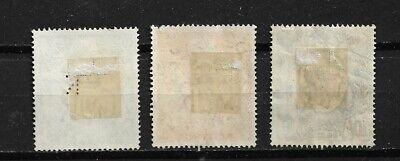 Timbre GRANDE BRETAGNE / UK - 233 (o) - 225 (o) - 234 (o) - Roi George VI
