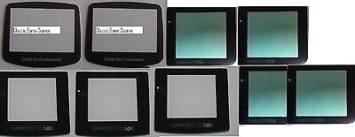 50 Lot Screen Lens For Game Boy 20 X Advance 5 X Color 20 X Pocket 5 X Gba Sp