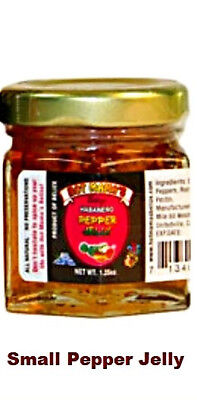 HOTMAMAS® Direct Import Gourmet Jellies & Spreads - 45ml -- PEPPER JELLY - Gourmet Pepper Jelly