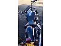 Yamaha XVS Dragstar 125 Cruiser Learner Bike