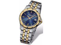 Raymond Weil Tango Stainless Steel & 18kt Gold Men's watch Model # 5590-STP-50001