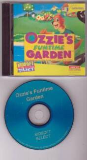 CD OZZIE'S FUNTIME GARDEN Science & Ecology Games, Stories, Activ