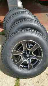 New 205 or 225 75 15 on 5 or 6 lug aluminum or steel rims