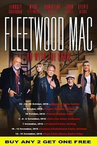 FLEETWOOD MAC 2015 Australian Laminated  Tour Poster