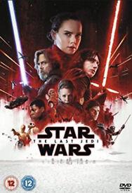 Star wars - the last Jedi dvd