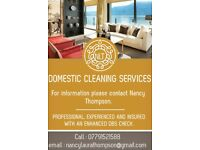 Professional and insured CLEANING SERVICES in Harleston, Bungay, Eye, Dickleburgh & Pulhams.
