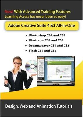 Learn Adobe Creative Suite (CS4) Design, Web and Animation DVD Courses