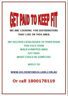 GET PAID TO WALK - CATALOGUES WALKERS WANTED LOCKRIDGE EDEN HILL 6054 Lockridge Swan Area Preview