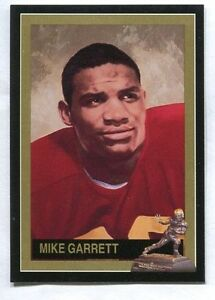 Mike Garrett 1992 DAC Heisman Trophy Winner card (1965 USC TROJANS)