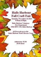 Halls Harbour Craft Fair