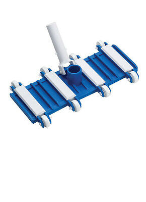 """New 14"""" Concrete in-ground Swimming Pool Vacuum Vac Head Flexible Weighted"""