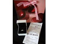 Sterling Silver Pandora Ring - brand new, never worn
