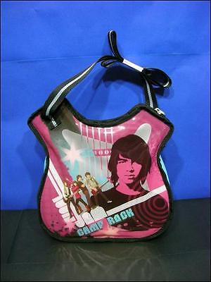 Camp Rock Lunch Box Guitar Lunch Tote Hot Pink Jonas Brothers  NWT   Camp Rock Lunch Box