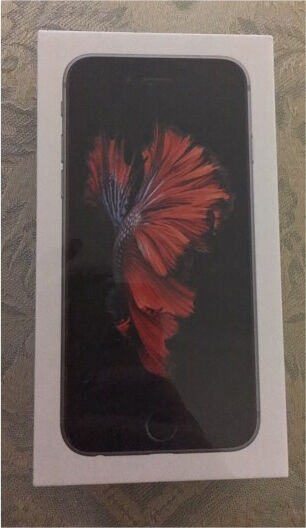 Apple iPhone 6S 16GB Space Grey Brand New Sealed Any Network with Apple warranty