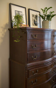 Antique Queen Anne Dresser