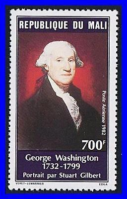 MALI 1982 USA PRES.G.WASHINGTON MNH PAINTING, MILITARY  (K-LM-DEC)