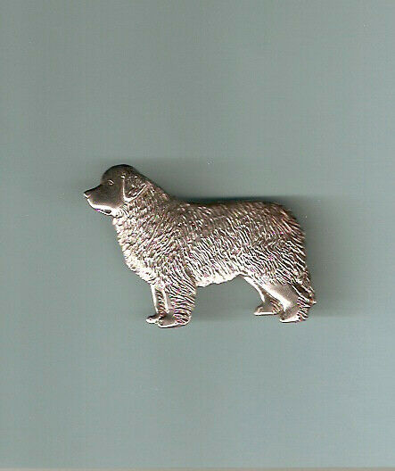 Newfoundland Dog Silver Brooch Pin Jewelry LAST ONE!
