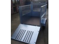 """5'x3'3"""" Galvanised Trailer with high sides"""