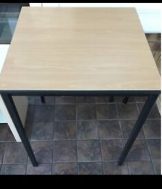 Fully Welded Oak Square table