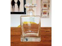 LSA Quad Decanter 1.1 Litre - Handmade Glass - Whisky / Whiskey / Wine / Spirit