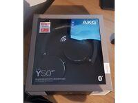AKG Y50BT Bluetooth Headphones (Still Sealed)