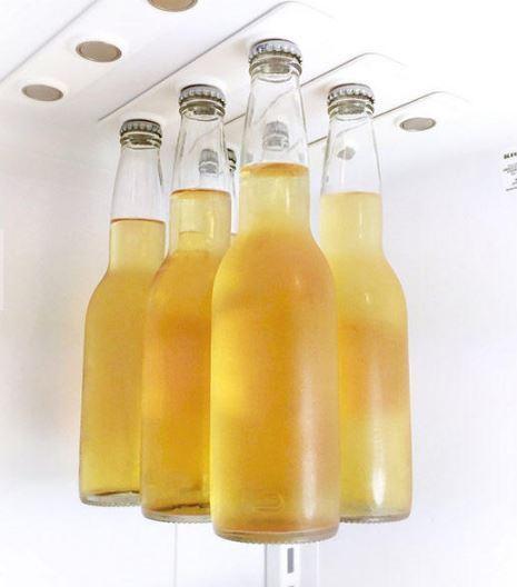 Magnetic Bottle Hanger Memo Refrigerator Strip Beer Cidre Ho