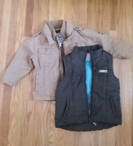 Old Navy 3T Jacket and Vest
