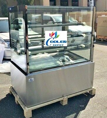 New 48 Bakery Deli Refrigerator Model Rc-4f Cooler Case Display Fridge Nsf