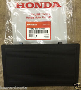 Genuine OEM Honda Double Din Block Off Plate Radio Hole Cover  77240-S0X-A00ZB