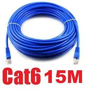 15M-50FT-RJ45-CAT6-Ethernet-LAN-Network-Cable-10M-100M-1000M-compatible