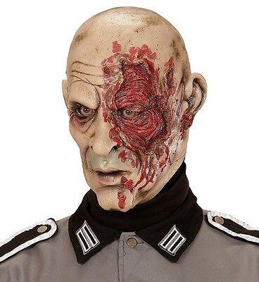 World War General German Zombie Halloween Fancy Dress Latex Full Face Mask (Halloween Wars Zombie)