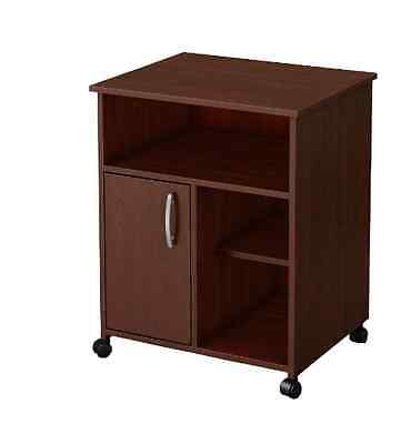 South Shore Axess 2-Drawer Office Printer Stand Table Wood Desk, Royal (2 Drawer Office Printer Stand)