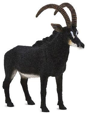 Mojo Fun 387145 Sable Antelope Toy Wild Animal Model Figurine - NIP