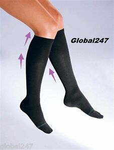 Flight Travel Socks HEALTH COMPRESSION SOCKS Mens Womens DVT Plane Sox One Size