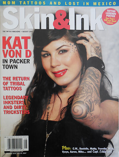 Top 10 tattoo magazines ebay for Best tattoo magazine