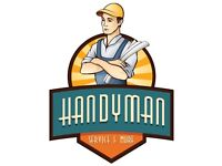 handyman services painter, flat packs, joiner, plumber, local handy man