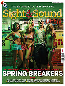 New! SIGHT AND SOUND - THE FILM MAGAZINE - May 2013 - FREE DELIVERY!
