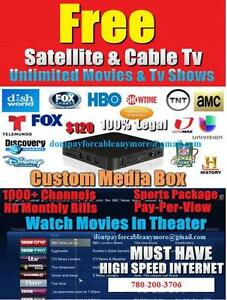 Android box iptv kodi get free cable, sports, ppv etc no fees