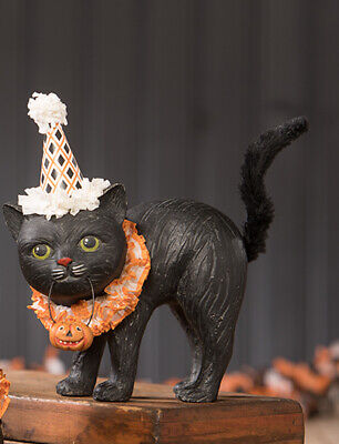Bethany Lowe Halloween Black Cat Soiree Standing New 2020 TJ9517