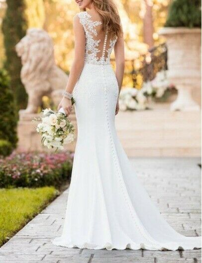 2e4510e282f Beautiful Stella York wedding dress