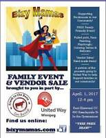Bizy Mama's & United Way FREE family event and vendor sale!
