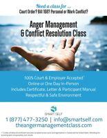 ONLINE CLASS Anger Management & Conflict Resolution Class